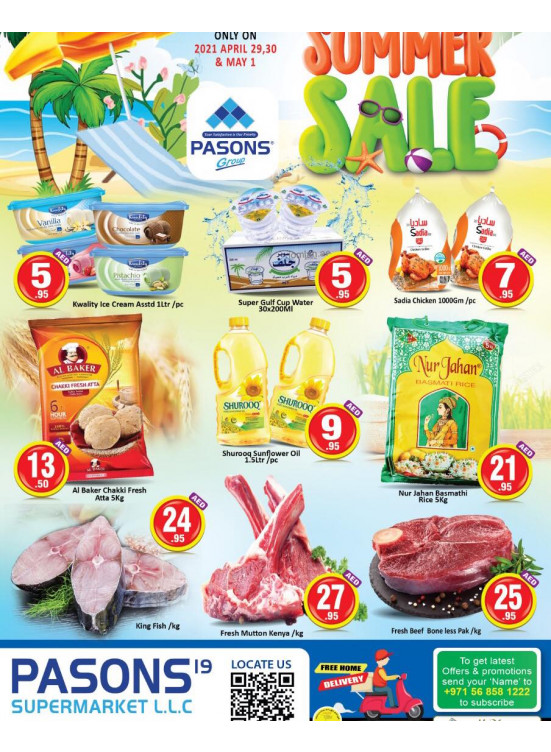 Summer Sale - Pasons 19 Supermarket