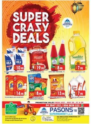 Super Crazy Deals - Pasons 18 Supermarket