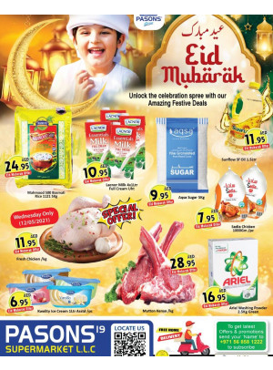 Eid Offers - Pasons 19 Supermarket