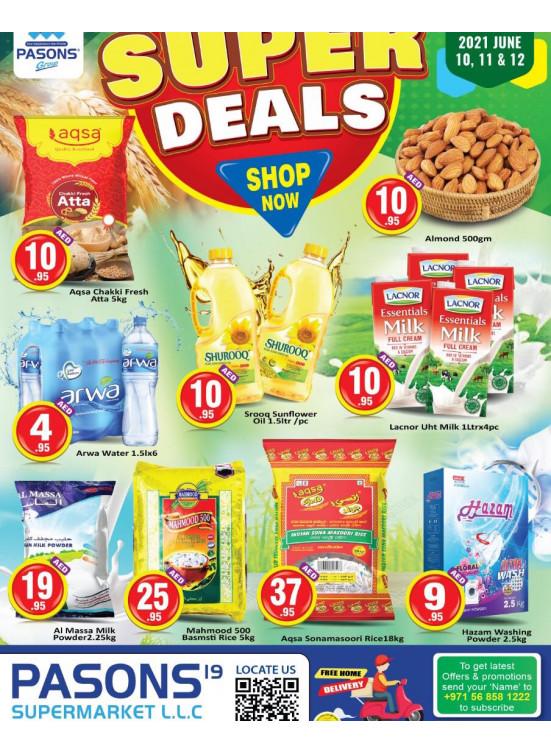 Super Deals - Pasons 19 Supermarket