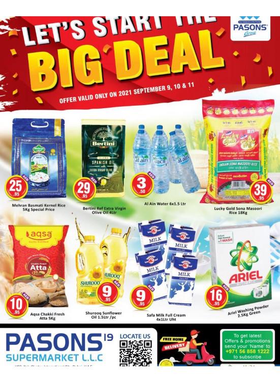 Big Deals - Pasons 19 Supermarket