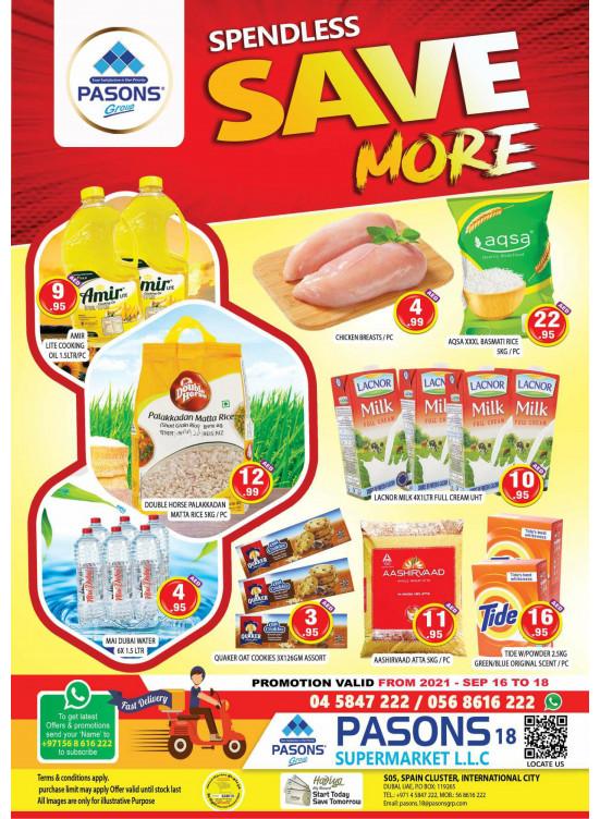 Save More - Pasons 18 Supermarket
