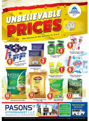 Unbelievable Prices - Al Quoz