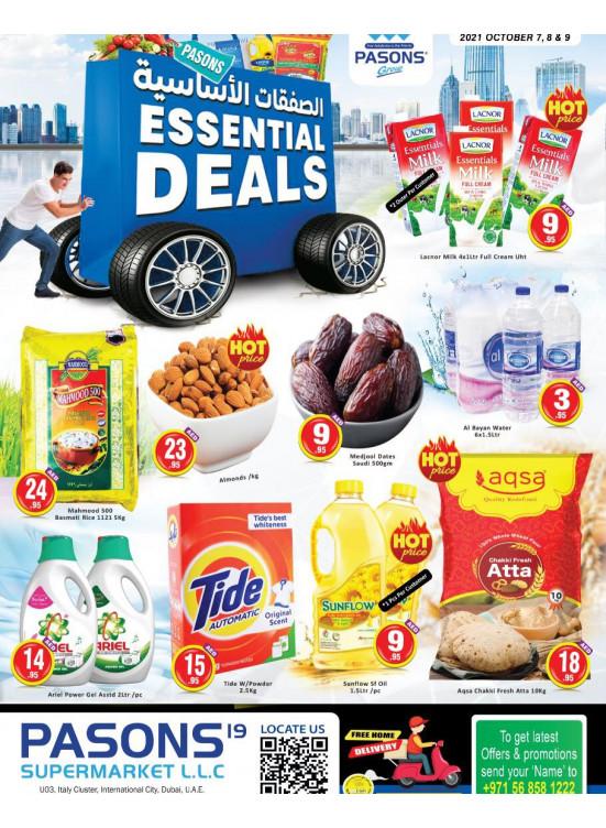 Essential Deals - Pasons 19 Supermarket