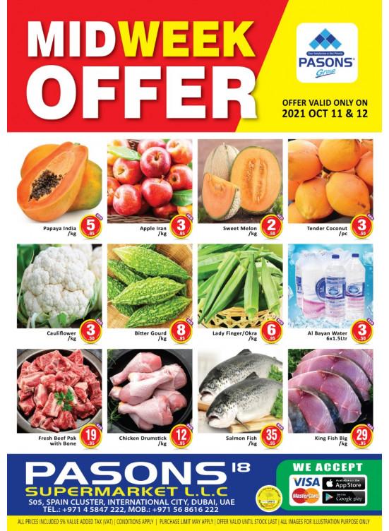 Midweek Offers - Pasons 18 Supermarket