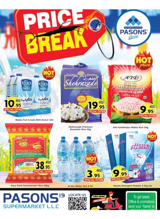 Low Prices - Pasons 19 Supermarket