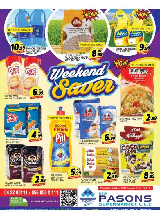 Weekend Saver - Al Qusais