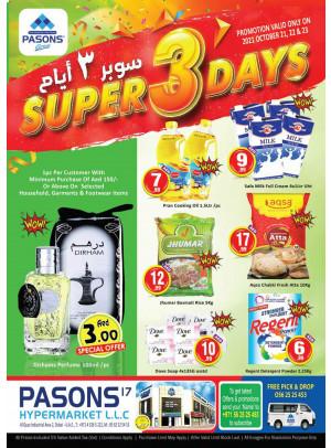 Super 3 Days - Al Quoz