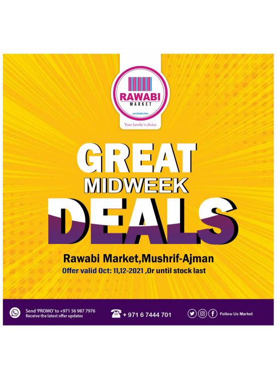 Great Midweek Deals