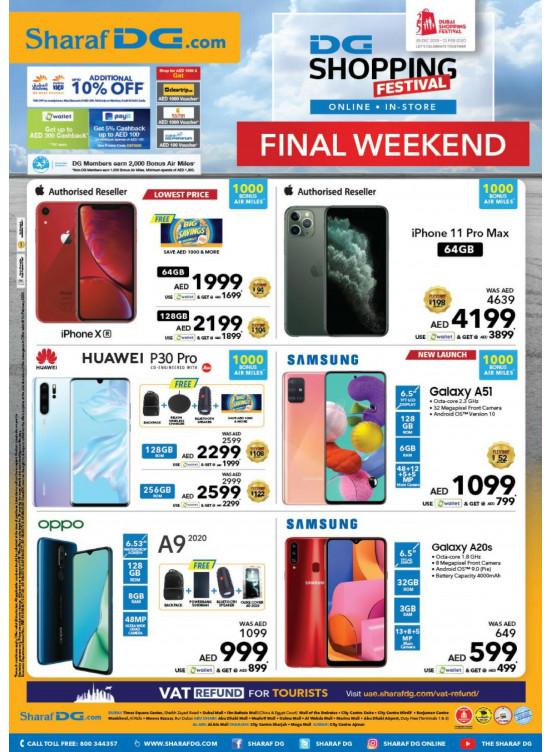 DSF Offers Final Weekend