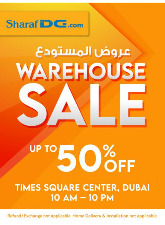 Warehouse Sale - Times Square Center, Dubai