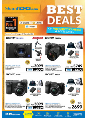 Best Deals on Mirrorless Cameras & Accessories
