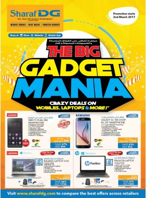 Crazy Deals on Mobiles, Laptops & More