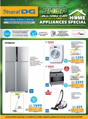 Shop All You Can Millions Worth Of Free Gifts On Home Appliances - Gitex Offers