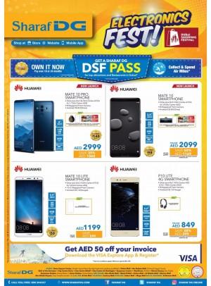 Electronics Fest - Big Discounts on Huawei Mobiles