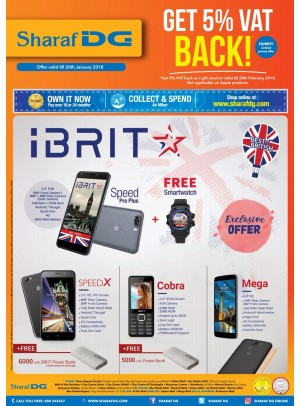 Huge Discounts on iBRIT Mobiles