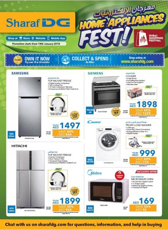 Home Appliances Fest