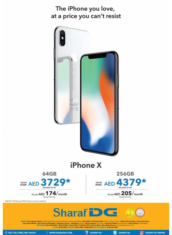 Irresistible Offer on The iPhone You Love from Sharaf DG
