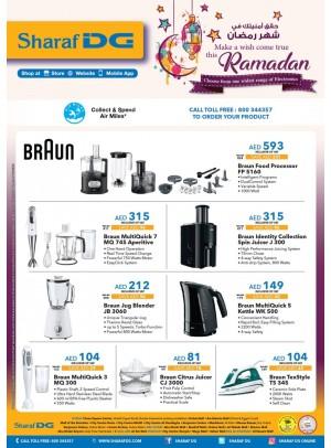 Mega Sale on Braun Products