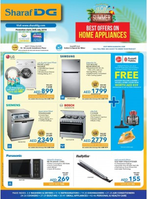 Best Offers on Home Appliances