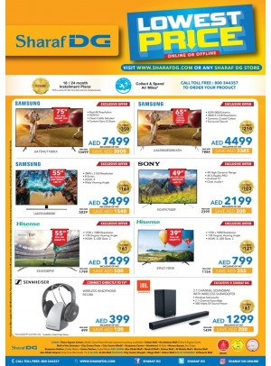 Lowest Prices on TV
