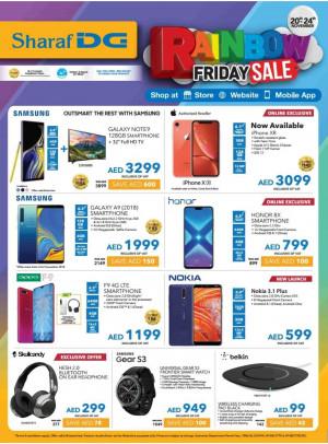 Rainbow Friday Sale