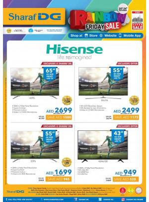 Amazing White Friday Sale on Hisense TVs