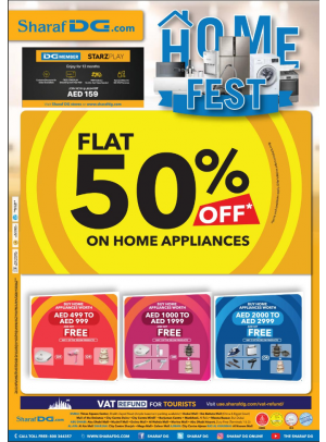 50% Off on Home Appliances