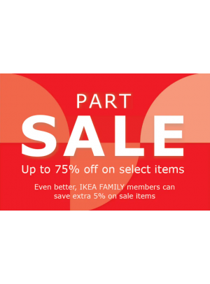 Part Sale Up To 75%
