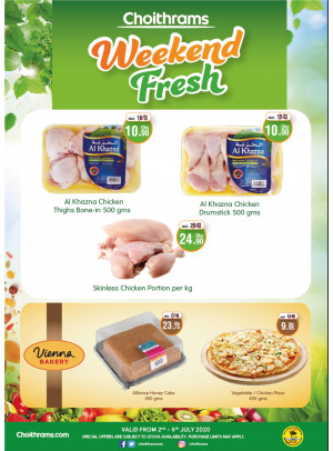 Weekend Fresh Offers