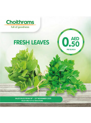Fresh Leaves - Al Rais, Dubai