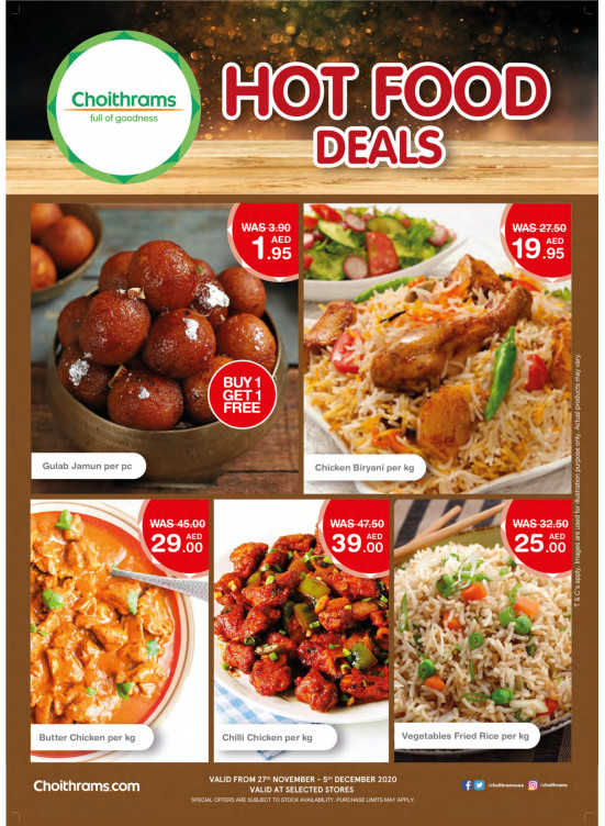 Hot Food Deals
