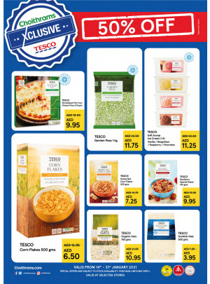 TESCO Offers - Up To 50% Off