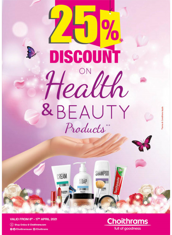 Healthy and Beauty Offers