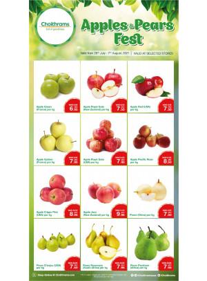 Apples & Pears Fest