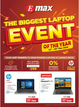The Biggest Laptop Event