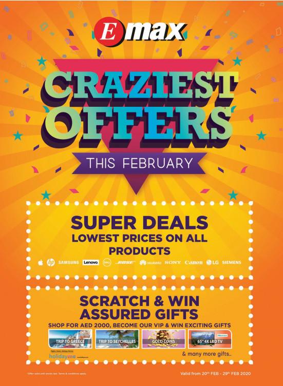 Craziest Offers
