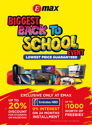 Biggest Back to School Event