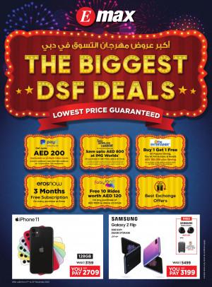 Biggest DSF Deals