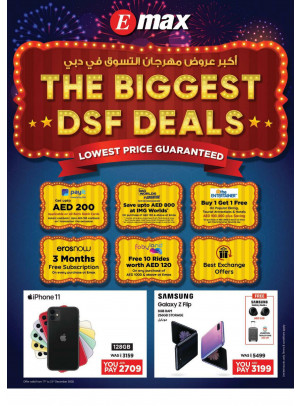 THE Biggest DSF Deals
