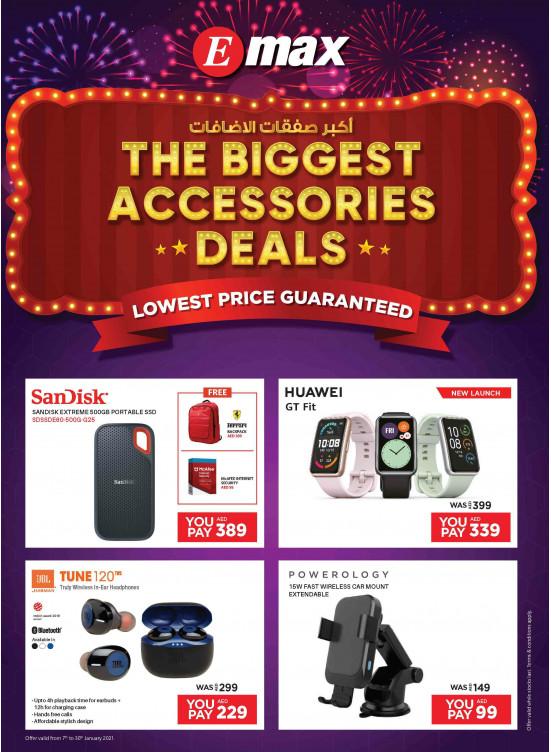 The Biggest Accessories Deals