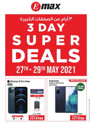 3 Day Super Deals