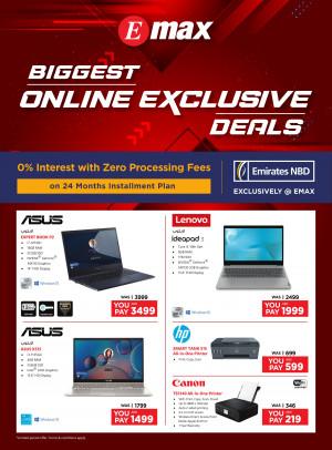 Biggest Online Deals