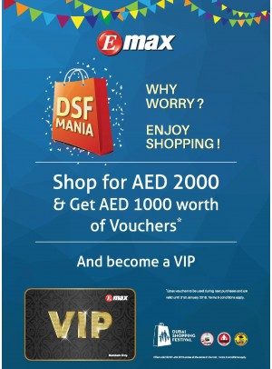 Dubai Shopping Festival DSF Offers