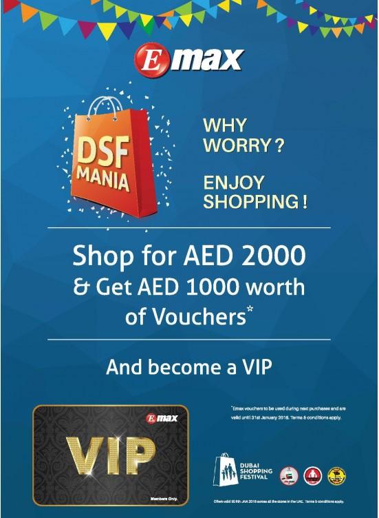 Dubai Shopping Festival DSF Offers
