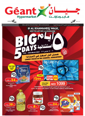 Big 5 Days Offers