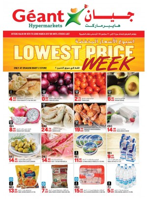 Lowest Price Week!