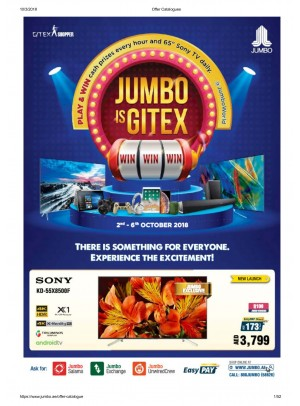 Jumbo Is Gitex Offers