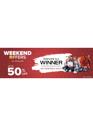 Weekend Offers - Up To 50% Off
