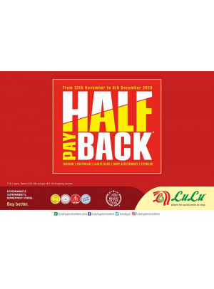 Half Pay Back Offer